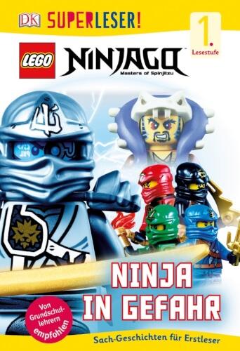 Buch SUPERLESER - LEGO NINJAGO - Ninja in Gefahr