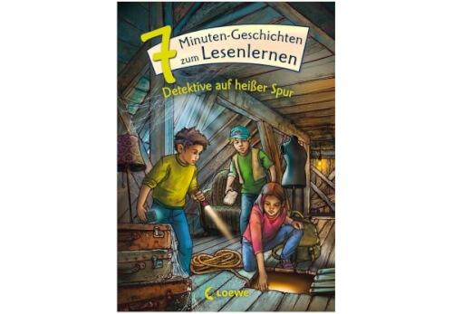 Leselöwen - Das Original - 7-Minuten-Geschichten zum Lesenlernen - Detektive auf
