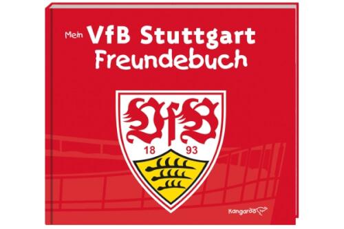 Mein Vfb Stuttgart Freundebuch 7581 Jetzt Kaufen Online Vor Ort