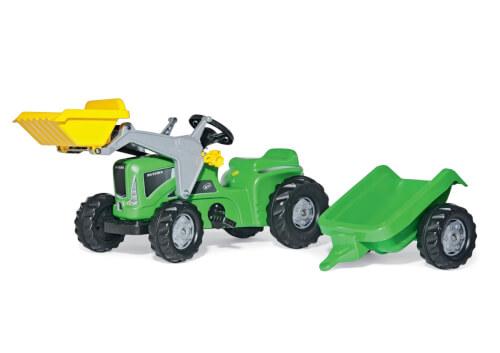 Bruder deutz traktor agrotron mit frontlader grün eur