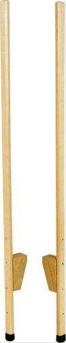 Stelzen aus Holz ca. 150 cm, verstellbar