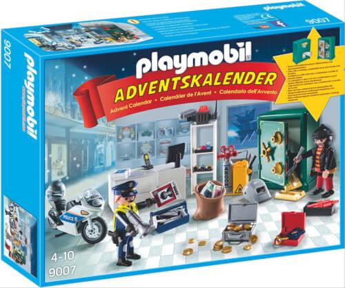 Playmobil 9007 Adventskalender Polizeieinsatz im Juweliergeschäft