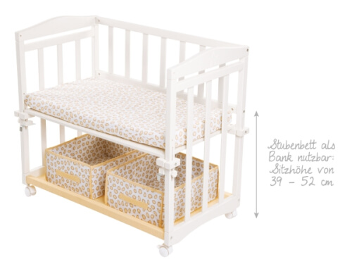 Roba stubenbett babysitter 4in1 safari weiß 8943wp72 ▷ jetzt