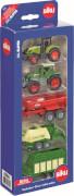 SIKU 6286 SUPER - Geschenkset 7, Landwirtschaft, 1:55, ab 3 Jahre