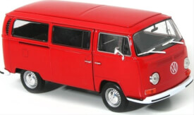 Welly VW T2 Bus 1972 rot 1:24