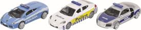 SIKU 6302 SUPER - Geschenkset Polizei, 1:55, ab 3 Jahre
