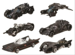 Mattel Hot Wheels Batman vs. Superman Die Cast, sortiert