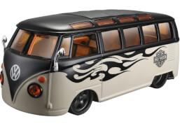Heinrich Bauer VW Bus Samba Harley Davidson 1:24
