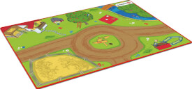 Schleich Farm World - 42442 Spielteppich Bauernhof, ab 3 Jahre