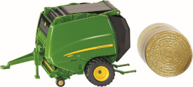 SIKU 2465 FARMER - John Deere Rundballenpresse, 1:32, ab 3 Jahre