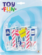 Toy Fun Verkehrszeichen, Blister