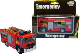 D/C Feuerwehr LKW Licht und Sound, Rückzug