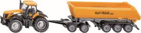 SIKU 1858 FARMER - JCB Traktor mit Dolly, 1:87, ab 3 Jahre