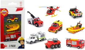 Feuerwehrmann Sam 3 Pack, 2-fach sortiert