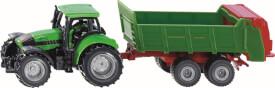 SIKU 1673 SUPER - Traktor mit Universalstreuer, ab 3 Jahre