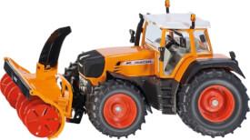 SIKU 3660 FARMER - Traktor mit Schneefräse, 1:32, ab 3 Jahre