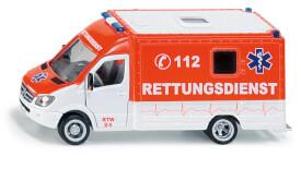 SIKU 2108 SUPER - Rettungswagen, 1:50, ab 3 Jahre