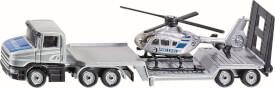SIKU 1610 SUPER - Tieflader mit Helikopter, ab 3 Jahre