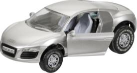 DARDA Audi R8, Kunststoff, 1:60, ab 5 Jahre