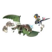 Spin Master Drachenzähmen leicht gemacht Toothless vs Armored Dragon Set