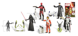 Star Wars - Basisfiguren Episode 7, ca. 9,5 cm