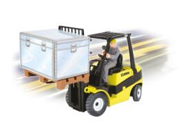 RC MB Actros Forklift Clark C25