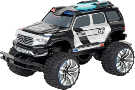 CARRERA RC - 2,4GHz Mercedes Benz Ener-G-Force, Police - with LED Lights and Siren