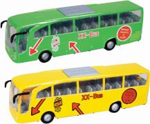 Speed Zone Fernbus mit Rückzug, 1:42, Länge ca. 16 cm, ab 3 Jahren