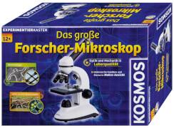KOSMOS Experimentierkasten Das große Forscher-Mikroskop