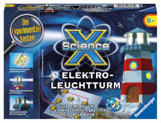 Ravensburger 181810  ScienceX® Elektro-Leuchtturm, Experimente