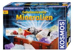 KOSMOS Experimentierkasten Geheimnisvolle Mineralien