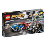LEGO® Speed Champions 75881 - 2016 Ford GT und 1966 Ford GT40, 366 Teile
