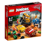 LEGO® Juniors 10744 CARS Crazy 8 Rennen in Thunder Hollow, 191 Teile, ab 4 Jahre