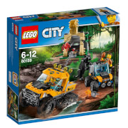 LEGO® City 60159 Mission mit dem Dschungel-Halbkettenfahrzeug, 378 Teile
