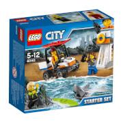 LEGO® City 60163 Küstenwache-Starter-Set, 76 Teile