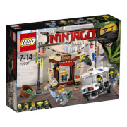 THE LEGO® NINJAGO® Movie - 70607 Verfolgungsjagd in NINJAGO® City, 233 Teile