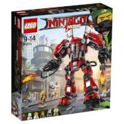 THE LEGO® NINJAGO® Movie - 70615 Kai's Feuer-Mech, 942 Teile