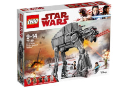 LEGO® Star Wars 75189 First Order Heavy Assault Walker, 1376 Teile