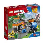 LEGO® Juniors 10750 City Straßenbau-Laster, 73 Teile, ab 4 Jahre