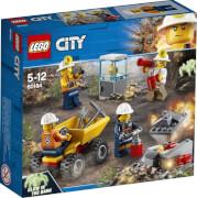 LEGO® City 60184 Bergbauprofis Bergbauteam, 82 Teile, ab 5 Jahre
