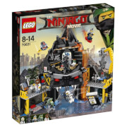 THE LEGO® NINJAGO® Movie - 70631 Garmadons Vulkanversteck, 521 Teile