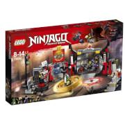 THE LEGO® NINJAGO® 70640 Hauptquartier der Motorradfahrer, 530 Teile