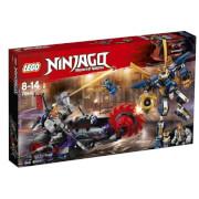 THE LEGO® NINJAGO® 70642 Killow gegen Samurai X, 556 Teile