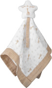 Diese Schmusetuch mit Stern aus der So'Pure Kollektion von Sophie la girafe® ist perfekt für friedliche Kuschelmomente.S