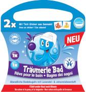 Tinti 11000294 Träumerle Bad 2er Pack - BDIH zertifiziert, Badekugeln in lila und blau, 99,8 g, ab 3 Jahren