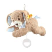 Steiff Gute Nacht Hund Spieluhr, blau, 22 cm