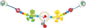 GoKi Kinderwagenkette Ente und Frosch mit Clip