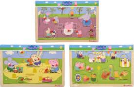Peppa Pig, Steckpuzzle, 3-sortiert.
