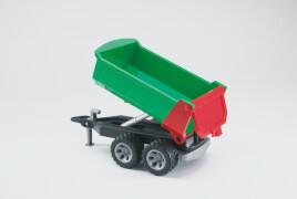 Bruder 20110 ROADMAX Kippanhänger, ab 2 Jahren, Maße: 39 x 18,5 x 20,5 cm, Plastik & Kunststoff