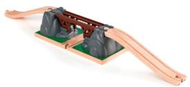 BRIO 63339100 Einsturzbrücke, ab 3 Jahren, Holz und Kunststoff